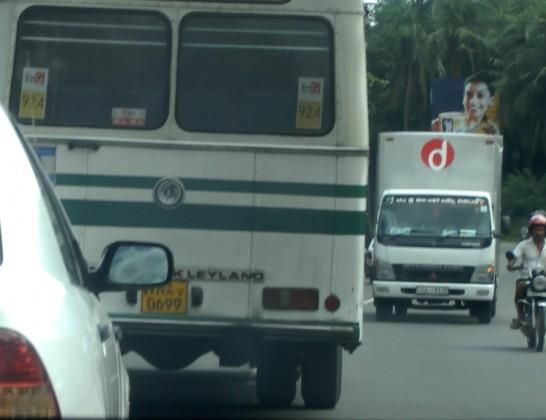 スリランカの運転マナー