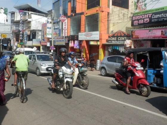 ネゴンボの街並み
