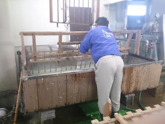 和紙の製造工程